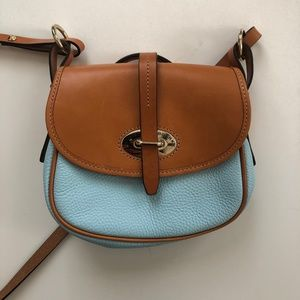 Dooney and Bourke Saddle Bag Blue